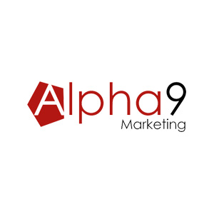 Logo Alpha9 Marketing - Referenzen und Portfolio von Greven Digital Ventures