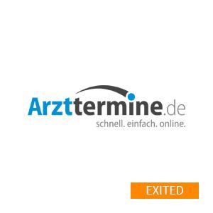 Logo arzttermine.de - Referenzen und Portfolio von Greven Digital Ventures